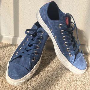 Blue Suede Converse